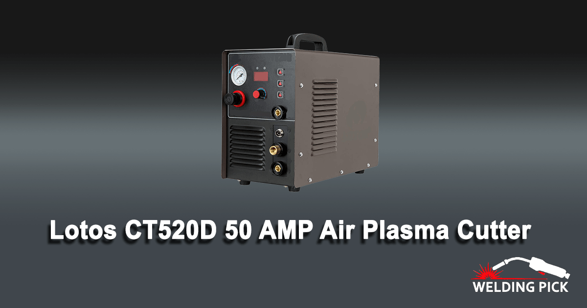 Lotos CT520D 50 AMP Air Plasma Cutter, 200 AMP Tig & Stick