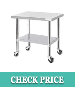 DuraSteel Stainless Steel Work Table