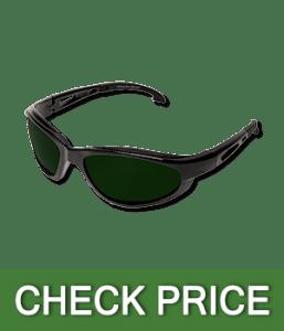 Edge SW11-IR5 Dakura Wrap-Around Non-Slip Safety Glasses