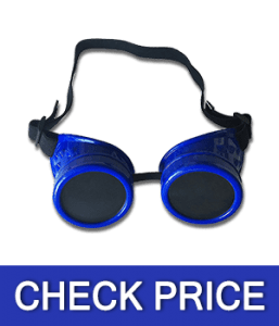 Wocst Vintage Steampunk Goggles Welding Glasses