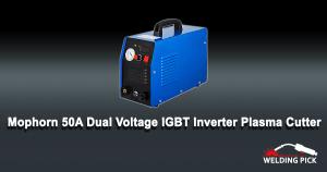 Mophorn 50 Amp Plasma Cutter Dual Voltage Plasma Cutting Machine Cutting Thickness Portable Plasma Welder IGBT Inverter