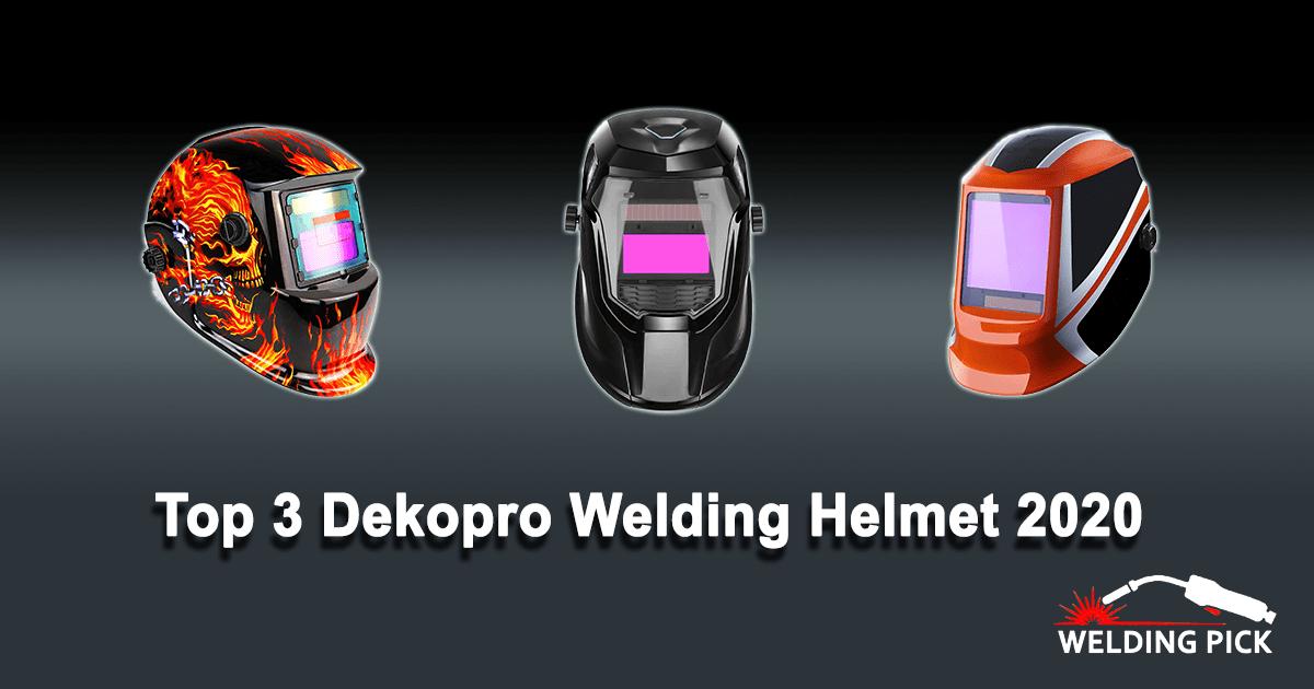 Top 3 Dekopro Welding Helmet 2020