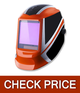 DEKOPRO Auto Darkening Solar Powered Professional Welding Helmet