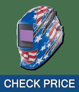 Miller 281002 Digital Elite Stars and Stripes III Welding Helmet