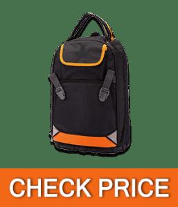 Rugged Tools Tradesman Tool Backpack, Pocket Heavy Duty Jobsite Tool Bag