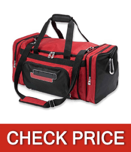 Lincoln Electric Industrial Duffle Bag, Military Grade Denier Fabric