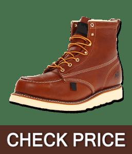 Thorogood Men's American Heritage Moc, Safety Toe Boot