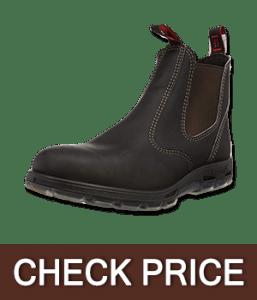 RedbacK Men's Safety Bobcat Leather Work Boot
