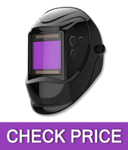 YESWELDER Solar Power Auto Darkening Welding Helmet