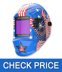 YESWELDER Large Viewing Screen True Color Solar Welding Helmet