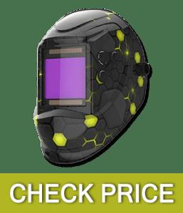 YESWELDER Large Viewing True Color Auto Darkening Welding Helmet