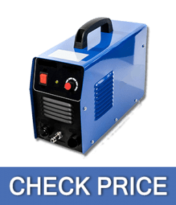 Biltek 50Amp Non-Pilot Arc Plasma Cutter, Dual Voltage 110V/220V with Pre-Attached 110V US Plug, 1/2 Inch Cut, Blue