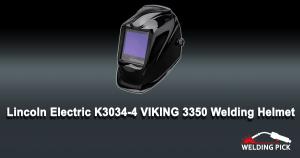 Lincoln Electric K3034-4 VIKING 3350 Welding Helmet