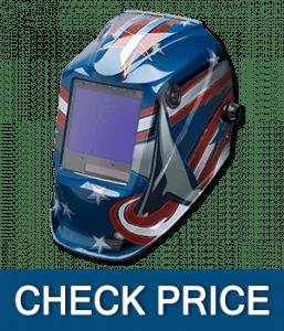 Lincoln Electric Viking 3350 All American, Auto Darkening Welding Helmet